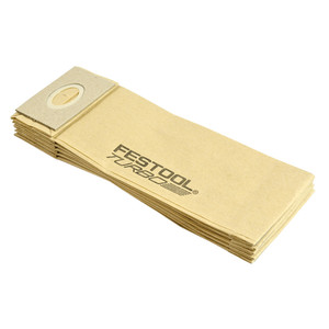 Festool TF II-ET/RS/5x turbo Filter Dust Bags - 5 Pack