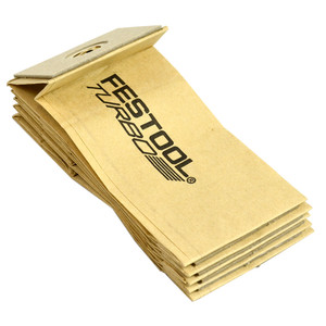 Festool TF-RS 400/5x Turbo Filter Dust Bags - 5 Pack