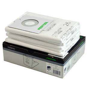 Festool Replacement Extractor Filter Bags - CT 26 - 5 Pack