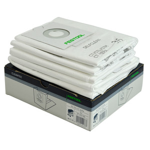 Festool Replacement Extractor Filter Bags - CT 36 - 5 Pack