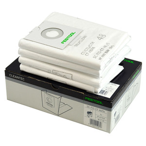 Festool Replacement Extractor Filter Bags - CT 48 - 5 Pack