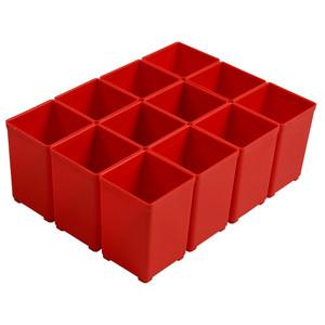 Festool 49mm x 49mm Plastic Container suit T-Loc - Red