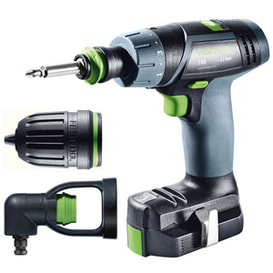 Festool TXS LI 10.8 Volt Lithium Cordless Drill/Driver Kit in Systainer - 564516