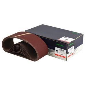 Festool 75mm x 533mm 'RUBIN 2' Abrasive Belt - 120 Grit - 10 Pack - Wood