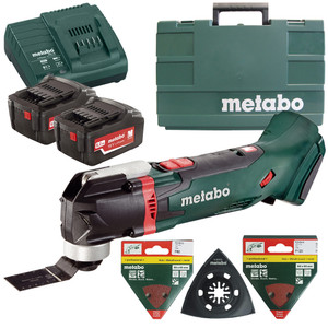 Metabo 18V 5.2Ah Multi Tool Kit - MT18LTXKIT