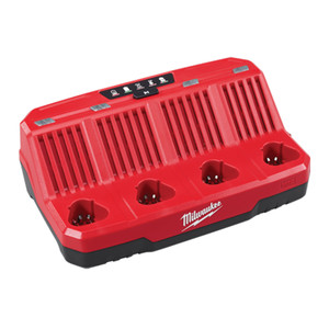 Milwaukee M12 Four Bay Sequential Charger - M12C4