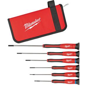 Milwaukee 6 Piece Precision Screwdriver Set - 48222606