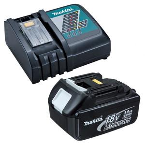 Makita 18V 3.0Ah Battery & Charger Pack - B-90146