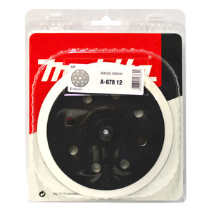 Makita 150mm Backing Pad Hook & Loop Style  - Suits BO6030/BO6040 Orbital Sanders