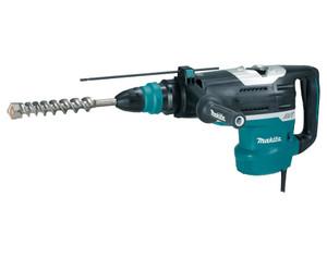 Makita 1150W 52mm SDS Max Type Shank, Anti Vibration, 2 Mode Rotary Hammer - HR5212C