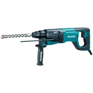 Makita 800 Watt 3 Mode SDS-Plus Rotary Hammer with 'D' Handle - 26mm Capacity - HR2641