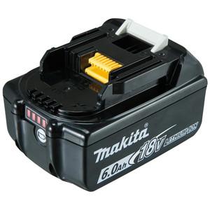 Makita 18V 6.0Ah Li-Ion Battery with Fuel Indicator - BL1860B