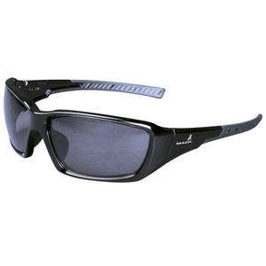 Mack Safety 'Mack Man' Polarised Smoke Lens Safety Spectacles - MKFLYER00BK0000