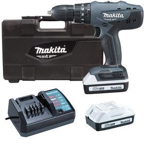 Makita MT Series 18V 1.3Ah Li-Ion Hammer Drill/Driver Kit - M8301DWEG
