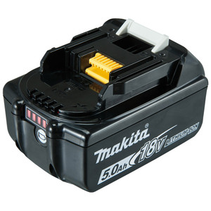 Makita 18V 5.0Ah Lithium-Ion Battery with Fuel Indicator - BL1850B