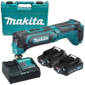 Makita 12V MAX 2.0Ah Multi Tool Kit - TM30DSAE