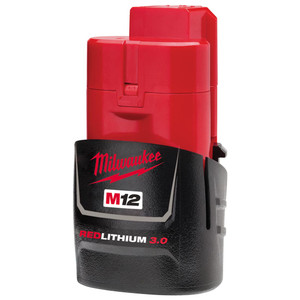 Milwaukee M12 3.0Ah REDLITHIUM-ION Compact Battery - M12B3