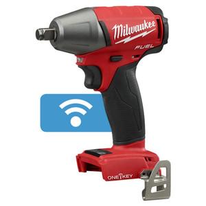 Milwaukee 18V Brushless FUEL 1/2™ Impact Wrench w/ Friction Ring & ONE-KEY (Tool Only) - M18ONEIWF12-0
