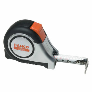Bahco 25mm Wide Stainless Steel Blade x 8m Tape Measure - MTS-8-25