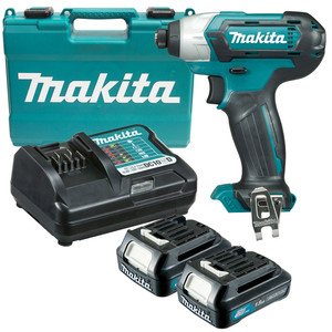 Makita 12 Volt 1.5ah MAX Li-ion CXT Impact Driver Kit - TD110DWYE