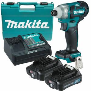 Makita 12 Volt 2.0ah MAX Li-ion CXT Brushless Impact Driver Kit - TD111DSAE