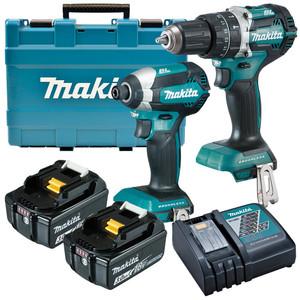 Makita 18V 3.0Ah Brushless 2 Piece Combo Kit - DLX2180X