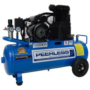 Peerless P14 275 L/M Belt Drive Air Compressor with Filter Regulator - 55 Litre Tank - 00257