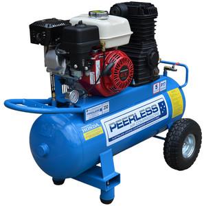 Peerless P17P 350 L/M Honda Powered Belt Drive Petrol Air Compressor - 55 Litre Tank - 00128