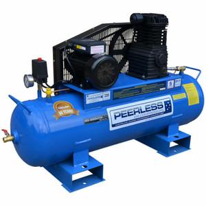 Peerless P17 'Fatboy' 320 L/M Belt Drive Stationary Air Compressor - 110 Litre Tank - 00380
