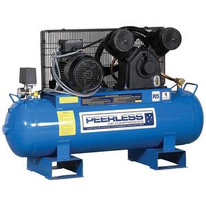 Peerless PV25 'Fatboy' 545 L/M Belt Drive 3 Phase Stationary Air Compressor - 110 Litre Tank - 00555
