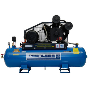 Peerless PHP52 990 L/M High Pressure 3 Phase Stationary Air Compressor - 190 Litre Tank - 00120