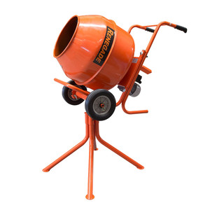 Renegade Industrial 2.2 Cubic Electric Cement Mixer with Stand - R22PCM
