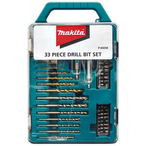 Makita 33 Piece Drill Bit Set - P-64250