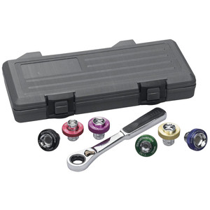 Gearwrench 7 Piece Oil Drain Plug Socket Set - 3870D