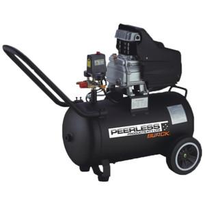 Peerless BLACK 154 L/P Direct Drive Air Compressor with Mini Regulator - 30 Litre Tank - PB2500