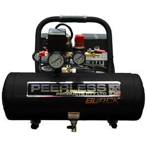 Peerless BLACK 65 L/P Oil less Air Compressor with Mini Regulator - 9 Litre Tank - PB2000