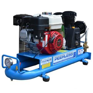 Peerless P17 350 L/M Tube Tank Petrol Air Compressor - 5 Litre Tank - 00128-2TT