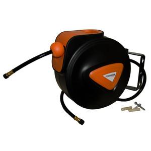 Peerless BLACK 10m Retractable Air Hose Reel - 00425