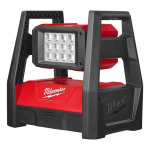 Milwaukee 18V High Performance Adjustable Head LED Area Light 'Skin' - M18HAL-0