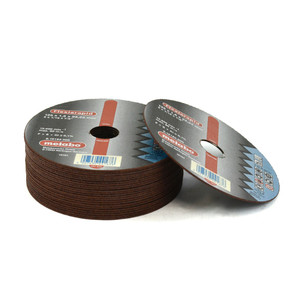 Metabo 125mm x 1mm Cutting Discs - 22mm Bore - 10 Pack