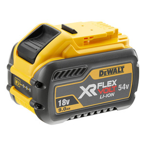 DeWalt 18V-54V 9.0ah Li-Ion XR Flexvolt Battery - DCB547-XE