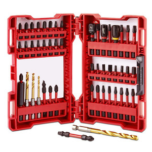 Milwaukee 50 Piece Shockwave Drill & Drive Bit Set - 48324024