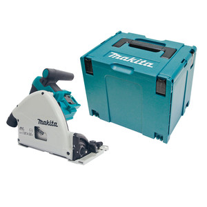 Makita 36V (18Vx2) 160mm Brushless Plunge Cut Saw 'Skin' with Connector Case 4 - DSP600ZJ