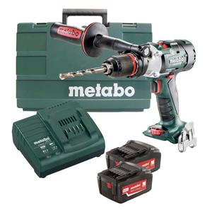 Metabo 18V 5.2ah Lithium Ion Brushless 3-Speed Hammer Kit - SB18LTX-3BLI