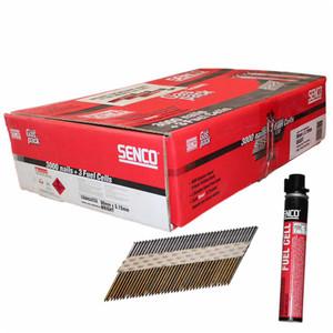 Senco 90mm HDG Framing Nails Box of 3,000 with Gas - IC29ASB-FC3