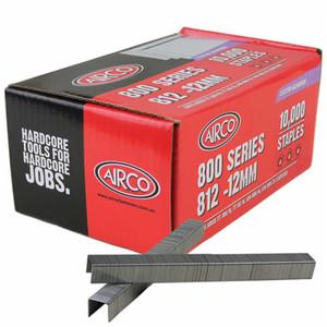 Airco 12mm 80 Series Staples Box of 10,000 - SF80120