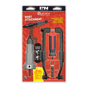 "P&N 3/32"" - 3/16"" Quickbits Rivet Attachment Set - 107PTS600"