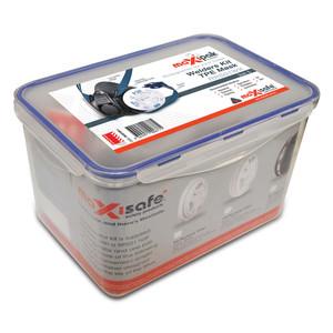Maxisafe TPE Half Mask 'General Purpose' Respiratory Kit - Large - RRS01WK-L