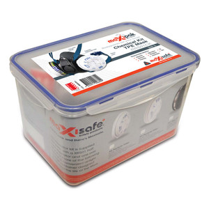 Maxisafe TPE Half Mask 'Chemical' Respiratory Kit - Large - RRS01CK-L