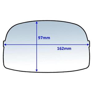 Weldclass 162x97mm Clear Outer Lens Suit Speedglas 9000 (426000/427000) - 10Pk - P7-CLSG9/10